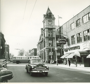 Pitt Street ca. 1950