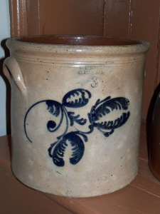 American Oren L. Ballard left his pottery in St John's, Quebec to open a pottery on part of hydraulic  lot 4, leased from William Mattice, along the canal race in the east end of Cornwall in 1864.