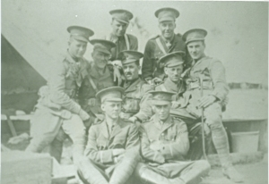 Officers of the 59th Regiment, summer 1914.