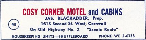 Cosy Corner Motel