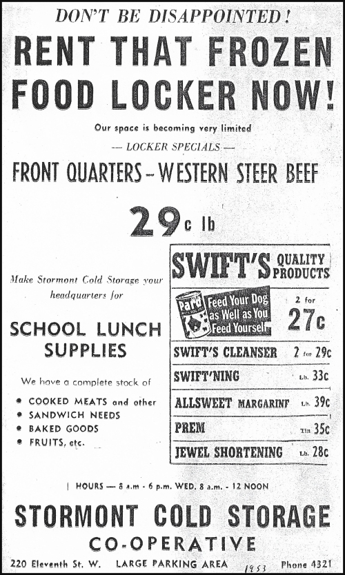 Stormont Cold Storage_lg ad_1953