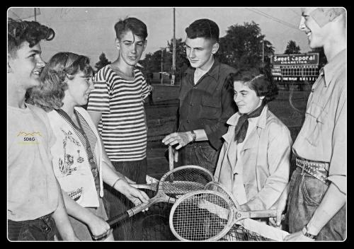 Roger Contant, Bett Zabizewski, Edgar Theoret, Charles Andrews, Gail Adams, Henry McLaren