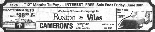 Cameron's Furniture_ad_1978-06-23