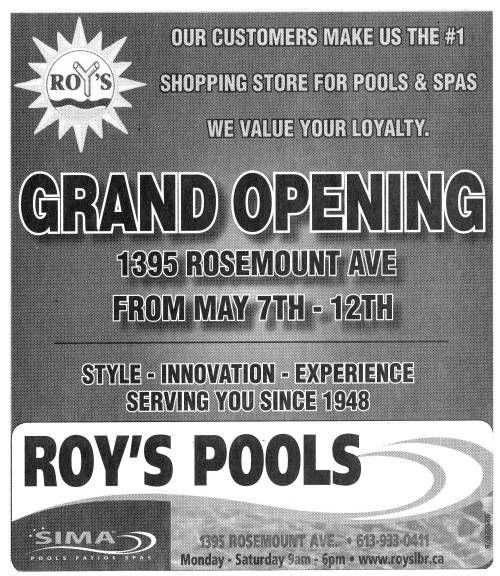 1395 Rosemount_Roy's Pools_2008_Grand opening