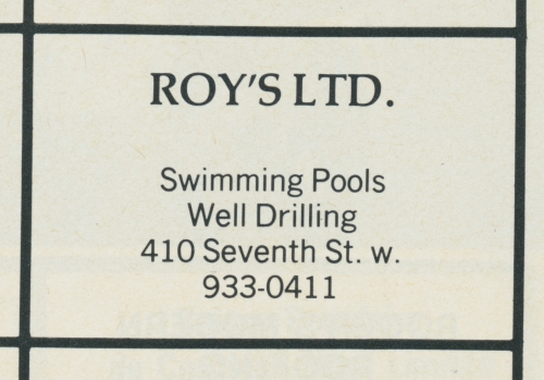 410 7th st w_roy's ltd_1981_st. gabriel yearbook ad