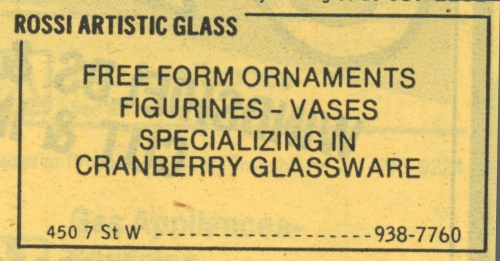 450 7th St W_Rossi Artistic Glass_1982_YP ad