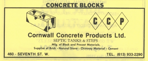 460 7th St W_Cornwall Concrete Products Ltd_1989_CD ad