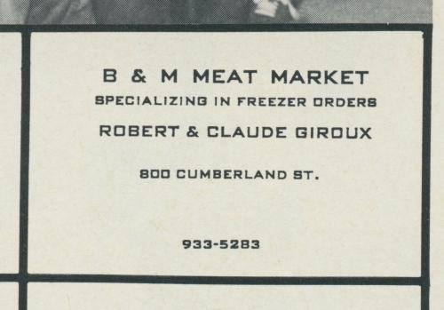 800 cumberland_b&m meat mkt_1981_st. gabriel yearbook ad
