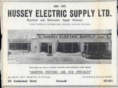 Hussey Elec_1971 ad_web