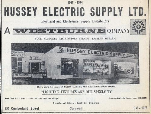 Hussey Elec_1974 ad_web