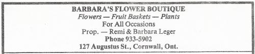 127 Augustus St_Barbara's Flower Boutique_1975