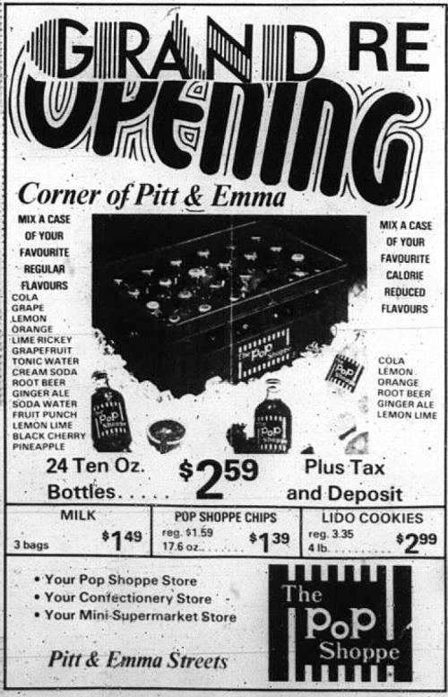 101 Emma_Pop Shoppe_1977-05-07_Grand Re-opening
