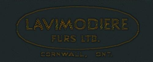 Lavimodiere Furs_Mfrs label