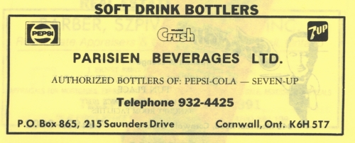 215 Saunders_Parisien Beverages_1989_CD ad