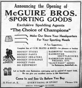 32 1st St E_McGuire Bros Sporting Goods_1936