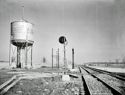 Water Tower & Track #2 standpipe